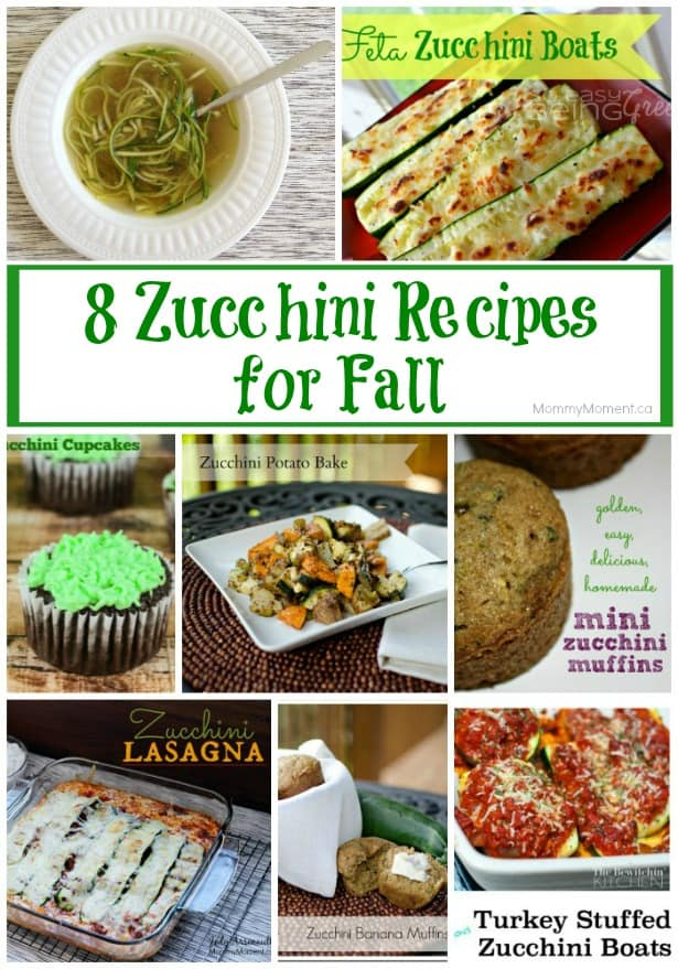 8 Zucchini Recipes