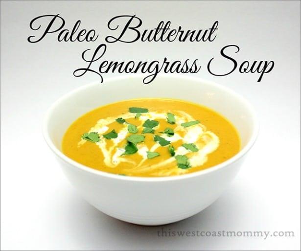 Paleo Butternut Lemongrass Soup