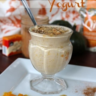 Homemade Pumpkin Spice Yogurt