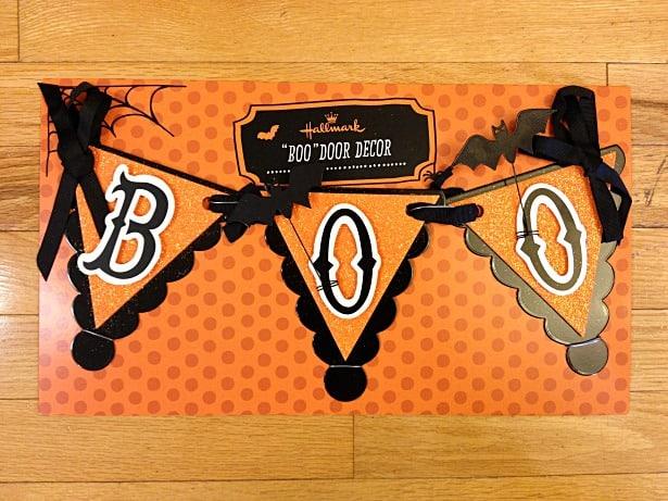 Hallmark Halloween BOO Sign