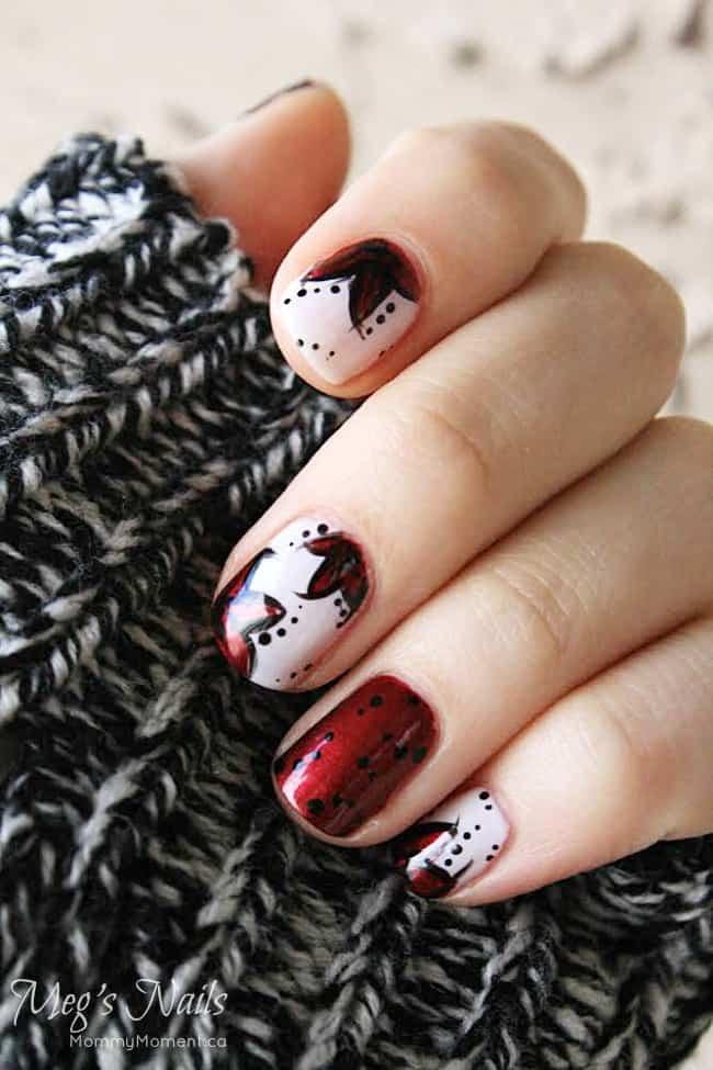Holiday Glam Nails OPI