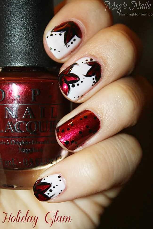 Holiday Glam Nails
