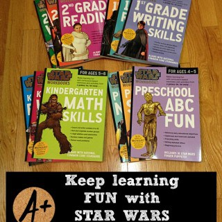 Keep Learning fun with STARS WARS Workbooks