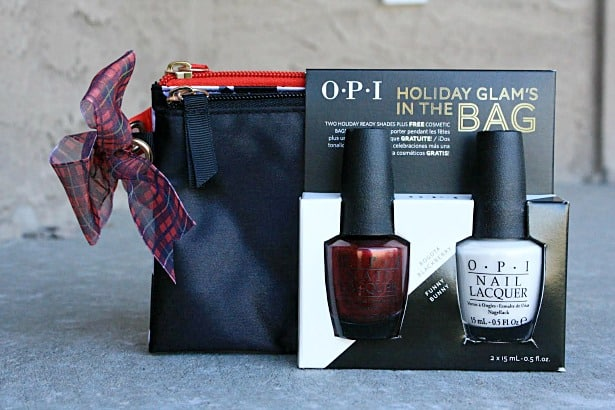 OPI Holiday Glams in the bag