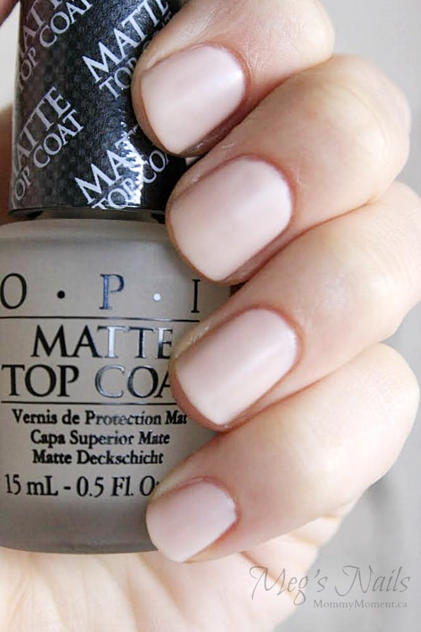 OPI Megs Nails Nude
