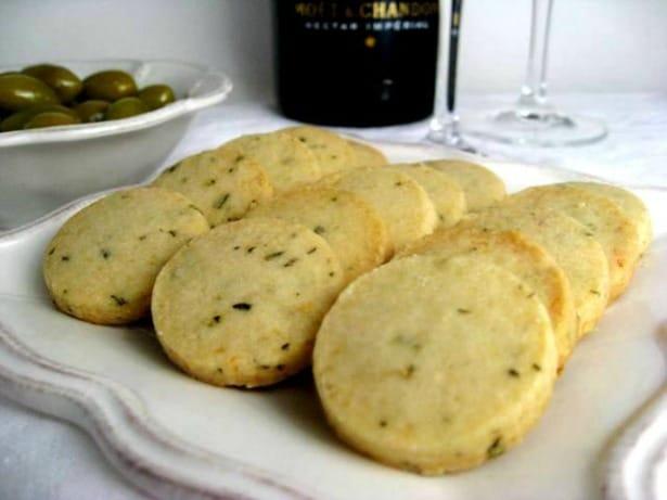 Parmesan Cocktail Cookies
