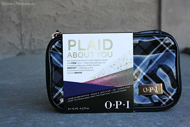 Plaid about you OPI