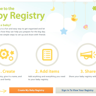 Baby registry now available on walmart.ca