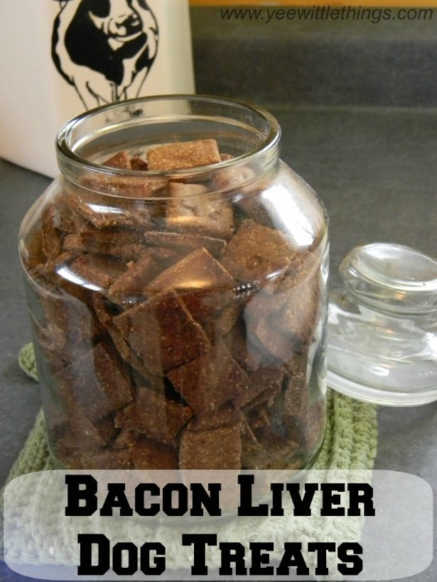 bacon liver dog treats