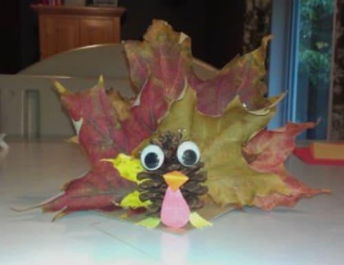 leaf turkey