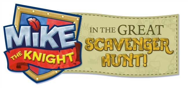 Mike the Knight in the great scavenger hunt