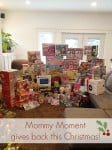 Mommy Moment gives back