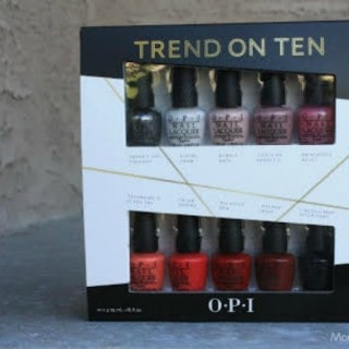 OPI Trend on Ten #31DaysOfGifts #Giveaway {CAN}