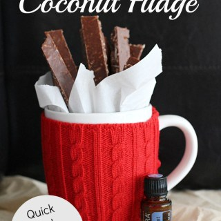 Homemade Peppermint Fudge Sticks
