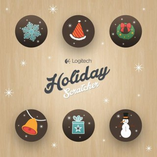 WIN with the Logitech Holiday Scratcher!