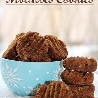 Real Food Molasses Cookies