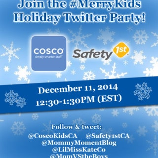 Join the #MerryKids Twitter Party Thursday, December 11th at 12:30pm EST