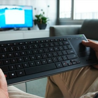 Navigate PC to TV even in the dark with the Logitech Illuminated Living Room Keyboard  #31DaysOfGifts #Giveaway {CAN}