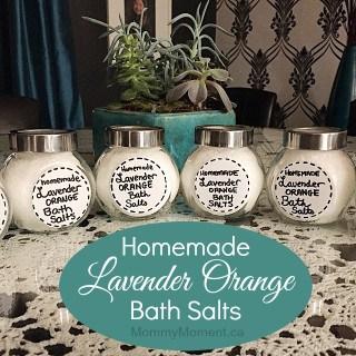 DIY BATH SALTS