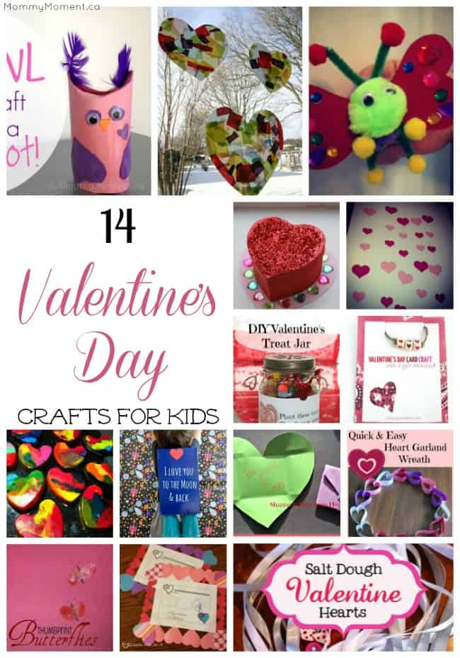 14 Valentines Day Crafts for Kids