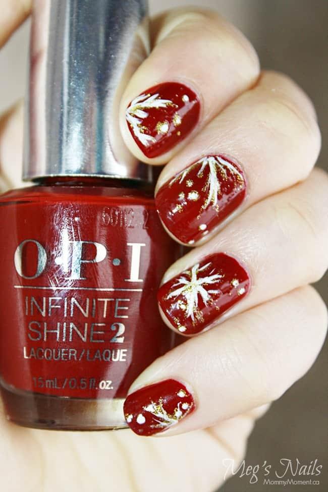 OPI Infinite Shine Nail Art