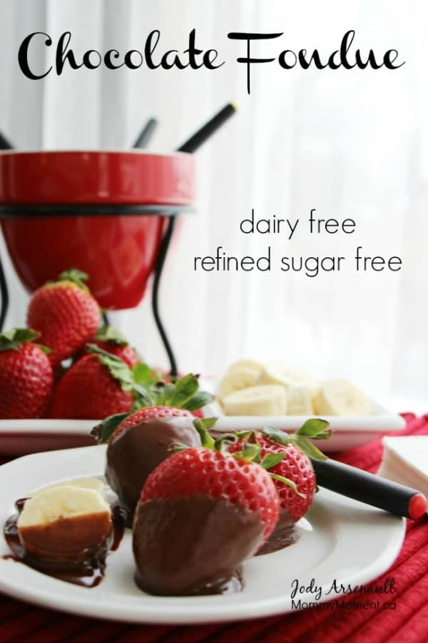 Chocolate Almond Fondue Recipe — Dishmaps