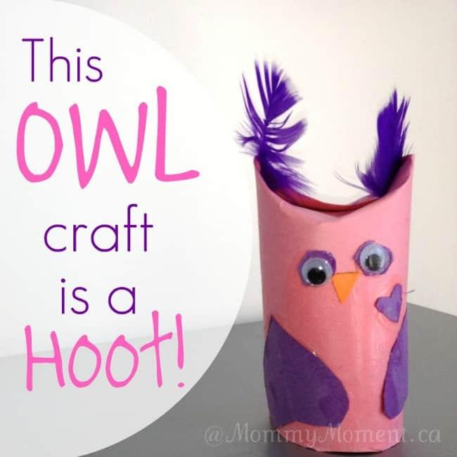 Owl Valentine's Day Craft