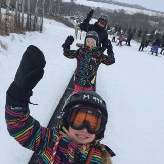 Asessippi Ski Area and Resort ~ Fun for the whole family #ExploreMB