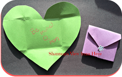 Easy DIY Valentines Day Surprise Card