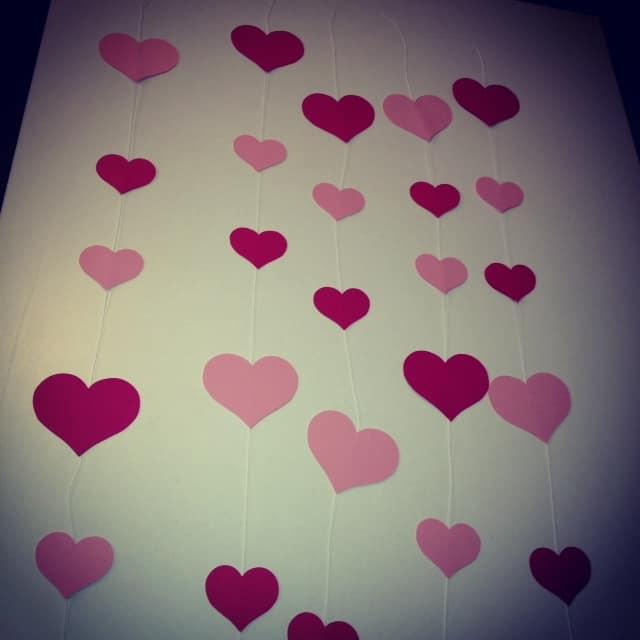 Valentine's Day Curtain