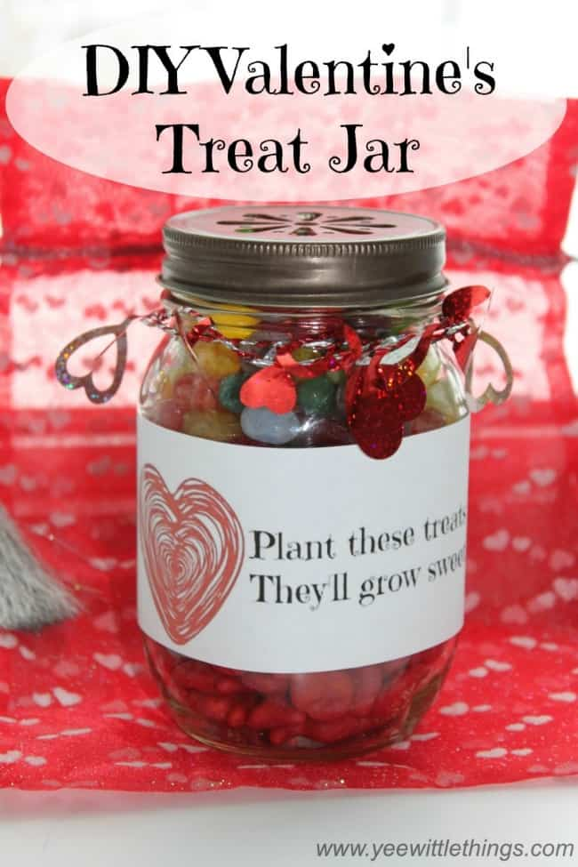 DIY Valentine's Treat Jar