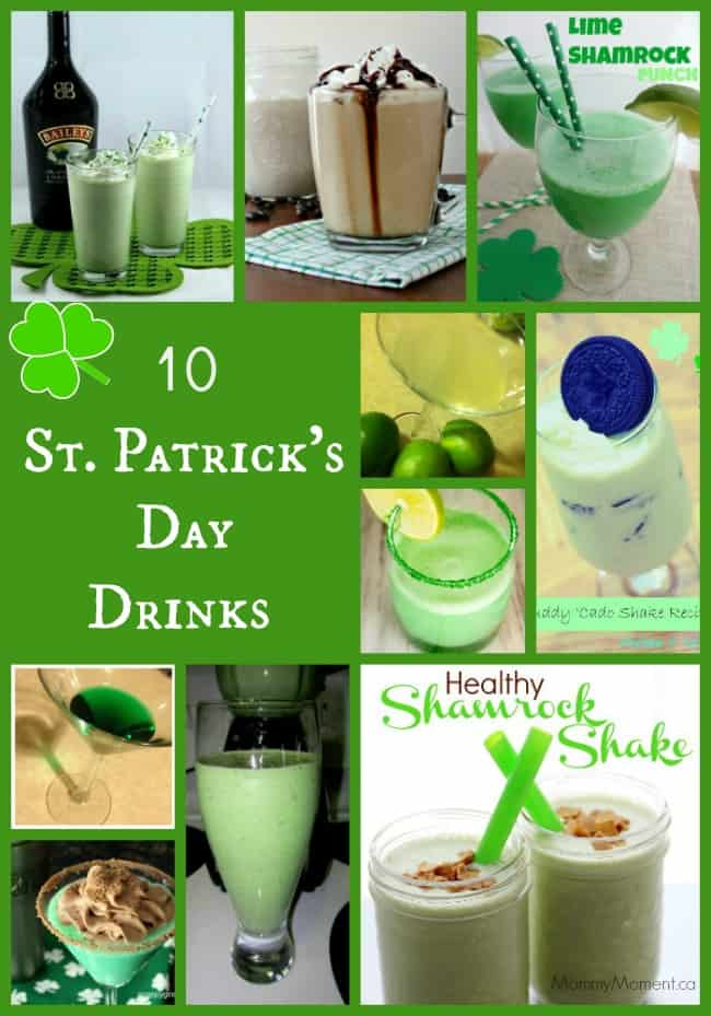 10 St. Patrick's Day Drinks