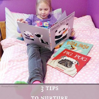 3 tips to nurture the love of reading!
