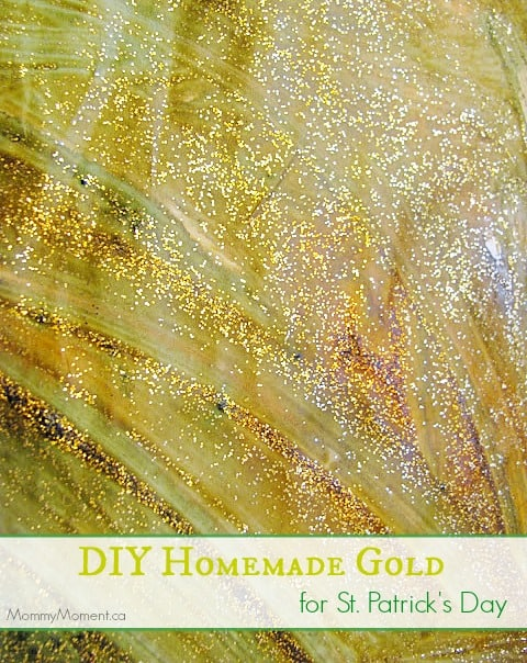 St Patrick's Day Homemade Gold