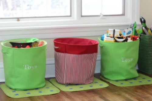 Tips for playroom organization