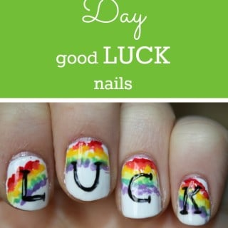 "St. Patrick's Day ""LUCK"" Nails"