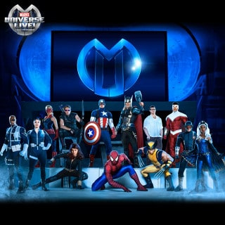 Marvel Universe LIVE! Ticket Code