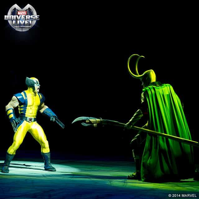 Marvel Universe Live Wolverine