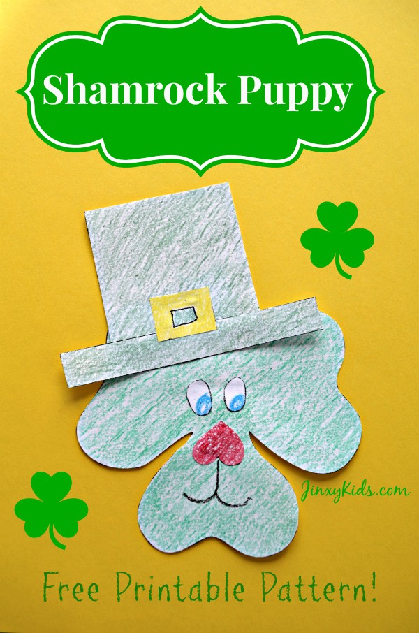 Shamrock Puppy Craft