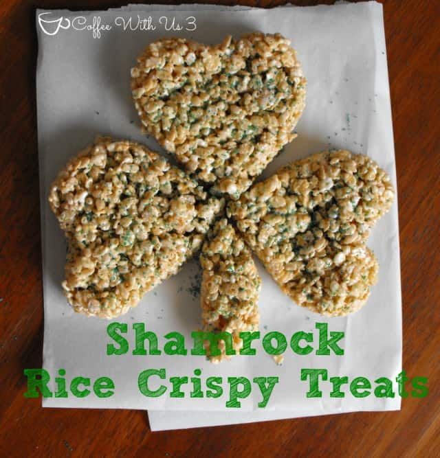 Shamrock Rice Crispy Treats