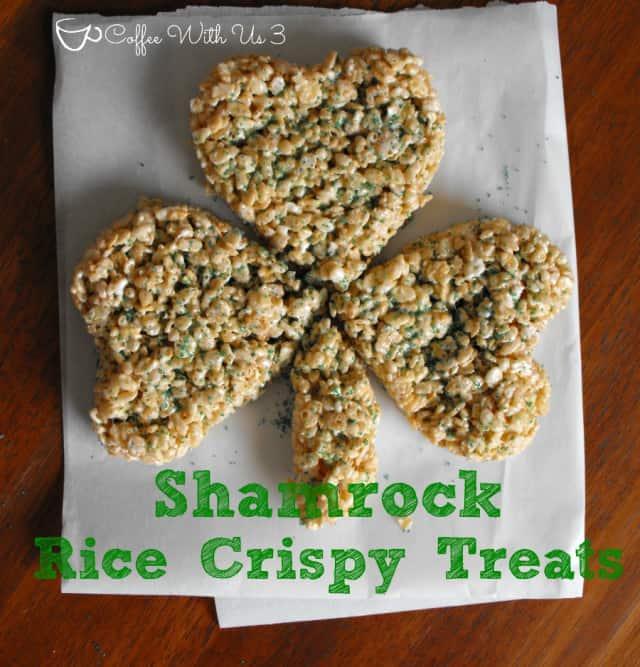 Shamrock Rice Crispy Treats