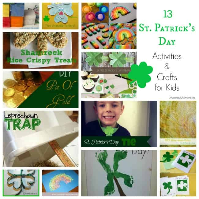 St Patrick's Day Activities and Crafts for Kids