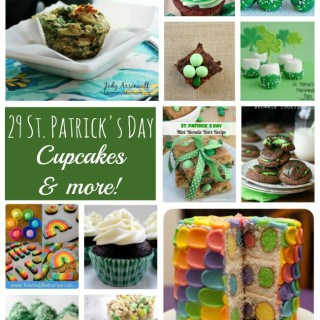 29 St. Patrick's Day Cupcakes & more!