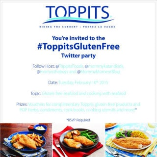 Join the #ToppitsGlutenFree Twitter Party, February 10 at 8pm EST