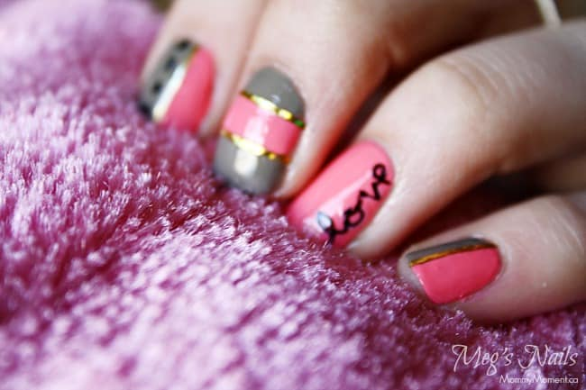 Valetine's Day nails