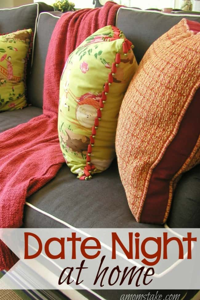 Plan a Date Night at Home