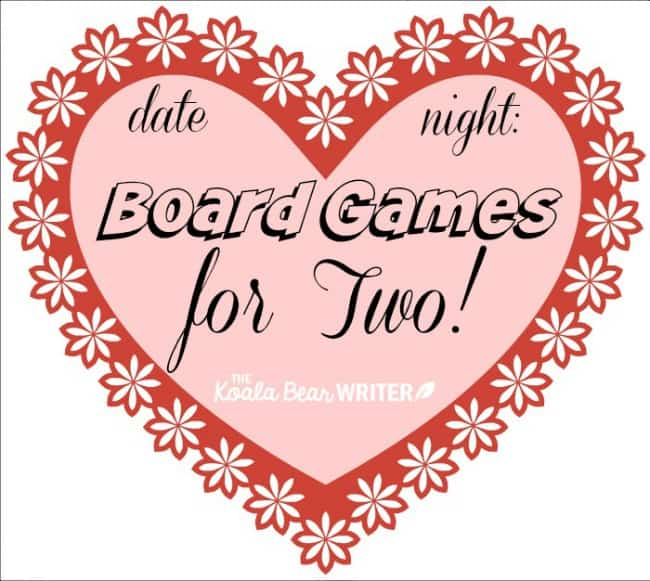 Date Night: Board Games for Two