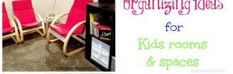 organizing ideas for kids spaces
