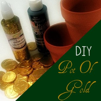 St Patrick's Day DIY Pot of Gold