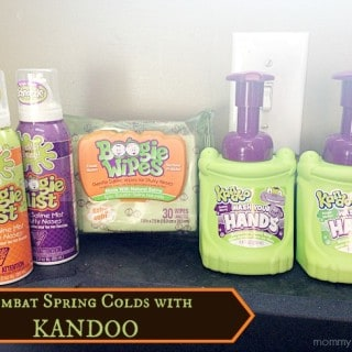 Combat Spring Colds with Kandoo